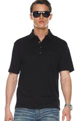 Michael Kors Metal-button Polo - Lyst