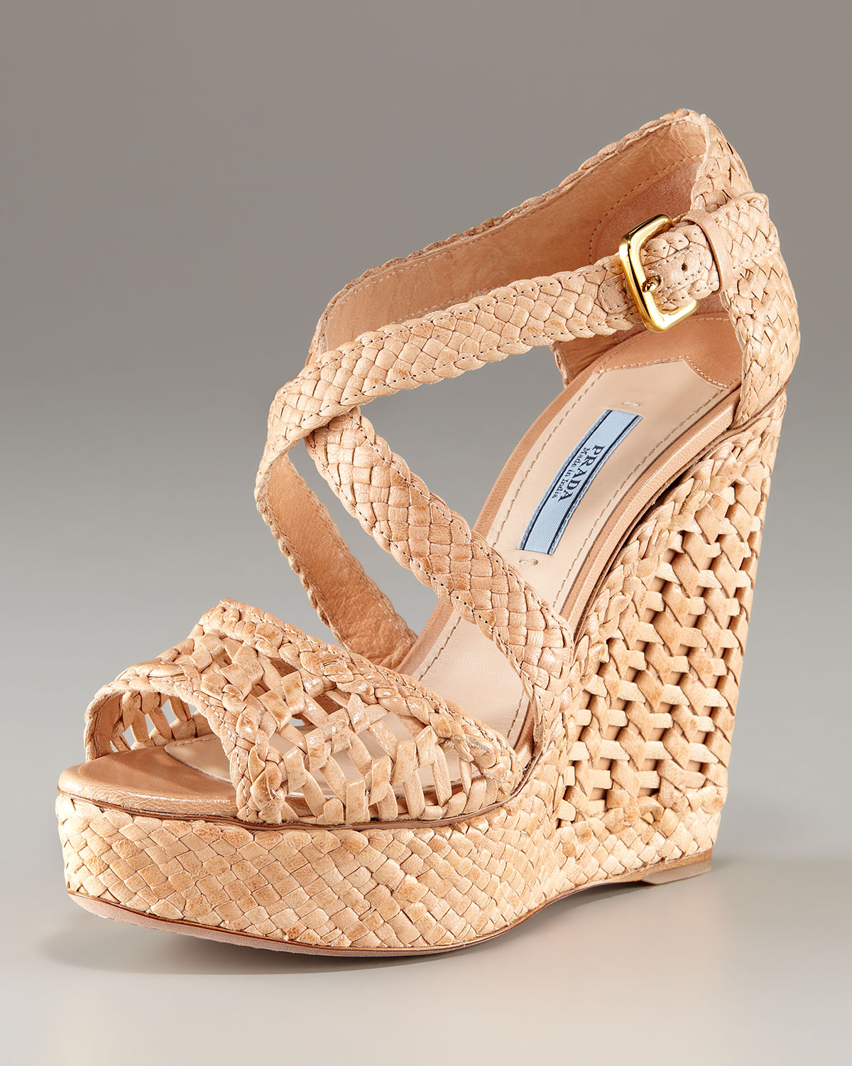 Prada Woven Jewel-Embellished Sandals new styles for sale buy cheap fake xyqyBb2M4