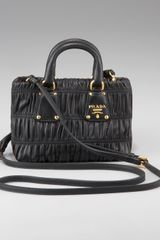 Prada Napa Gaufre Shoulder Bag - Lyst