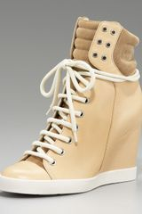 See By Chloé High-top Wedge Sneaker - Lyst