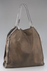 Stella Mccartney Classic Falabella, Brown in Brown - Lyst