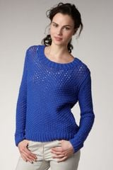 Theory Knit Sweater - Lyst