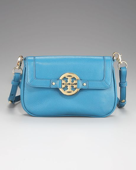 Tory Burch Amanda Wristlet in Blue (red) - Lyst