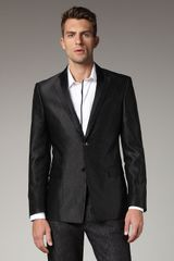 Versace Jacquard Evening Jacket - Lyst