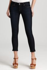 Ash Paige Denim Jeans Kylie Crop Skinny Jeans in Stream Wash - Lyst