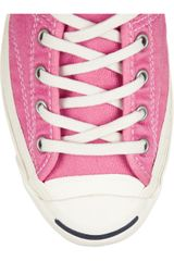 Converse Jack Purcell Helen Sneakers in Pink (black) - Lyst