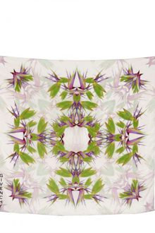 Givenchy Birds Of Paradise Silk Crepe Scarf - Lyst