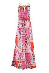 H&m Dress in Multicolor (cerise) - Lyst