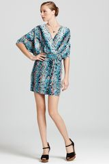 Laundry By Shelli Segal Dress Printed Jersey - Lyst