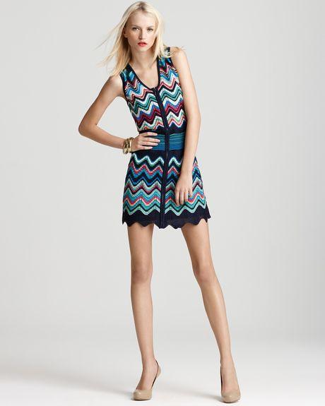 Laundry By Shelli Segal Dress Zip Sweater Dress in ...