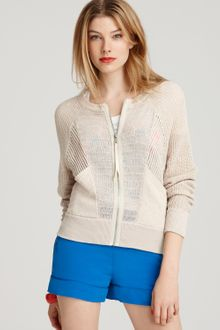 Marc By Marc Jacobs Sweater Michelle Mixed Stitch Cardigan - Lyst
