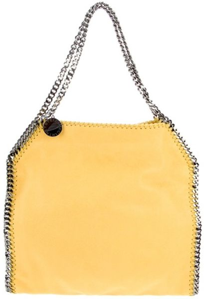 Stella Mccartney Falab Shagder Small Bag in Yellow - Lyst