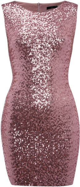 Tfnc Sleeveless Paris Sequin Dress - Lyst