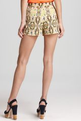 Tibi Shorts Printed in Multicolor (petal multi) - Lyst