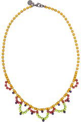 Tom Binns Dot Dash Swarovski Crystal Necklace - Lyst
