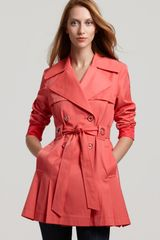 Via Spiga Scarpa Double Breasted Trench - Lyst