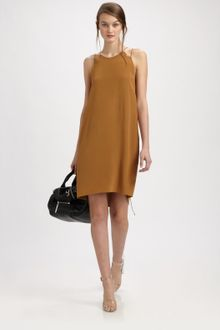 3.1 Phillip Lim Silk Chemise Dress - Lyst