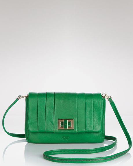 Anya Hindmarch Mini Gracie Shoulder Bag  in Green - Lyst