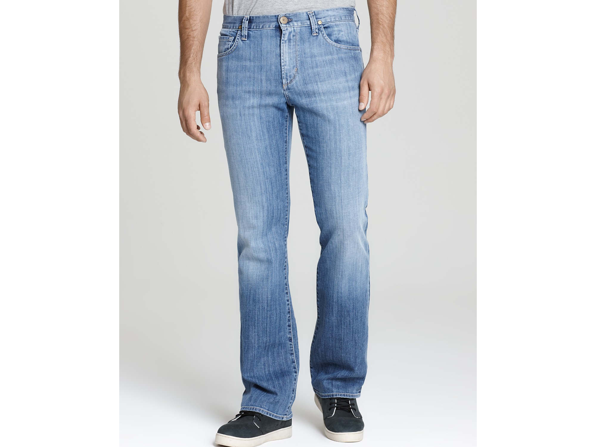 Vanity Jeans For Men : Ash bootcut jeans in vanity wash blue for men lyst