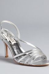 Badgley Mischka Sandals Guinevere Strappy - Lyst