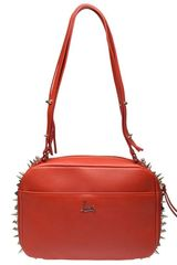 Christian Louboutin Roxane Studded Leather Tote Bag