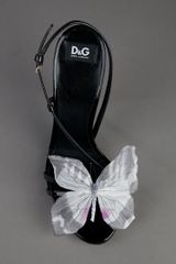 D&g Strap Sandal in Black - Lyst