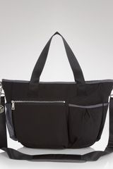 Dkny Nylon Diaper Bag  in Black - Lyst