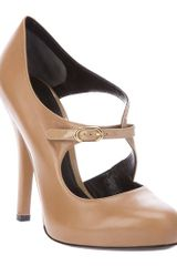 Dolce & Gabbana Court Shoes in Beige - Lyst