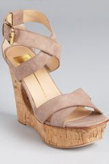 Dolce Vita Sandals Orla Cut Out Wedge - Lyst