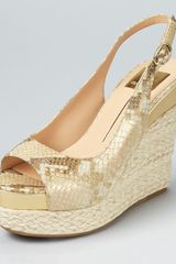 Dolce Vita Joss Open Toe Wedges  - Lyst