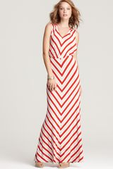 Ella Moss Dress Riviera Striped Maxi Dress - Lyst