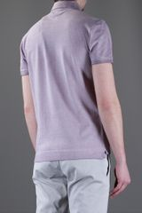 Fendi Classic Polo in Purple for Men (lavender) - Lyst