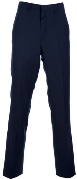 Givenchy Classic Trouser in Blue for Men - Lyst
