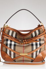 Hobo Burberry Bridle House Check Small Dutton - Lyst