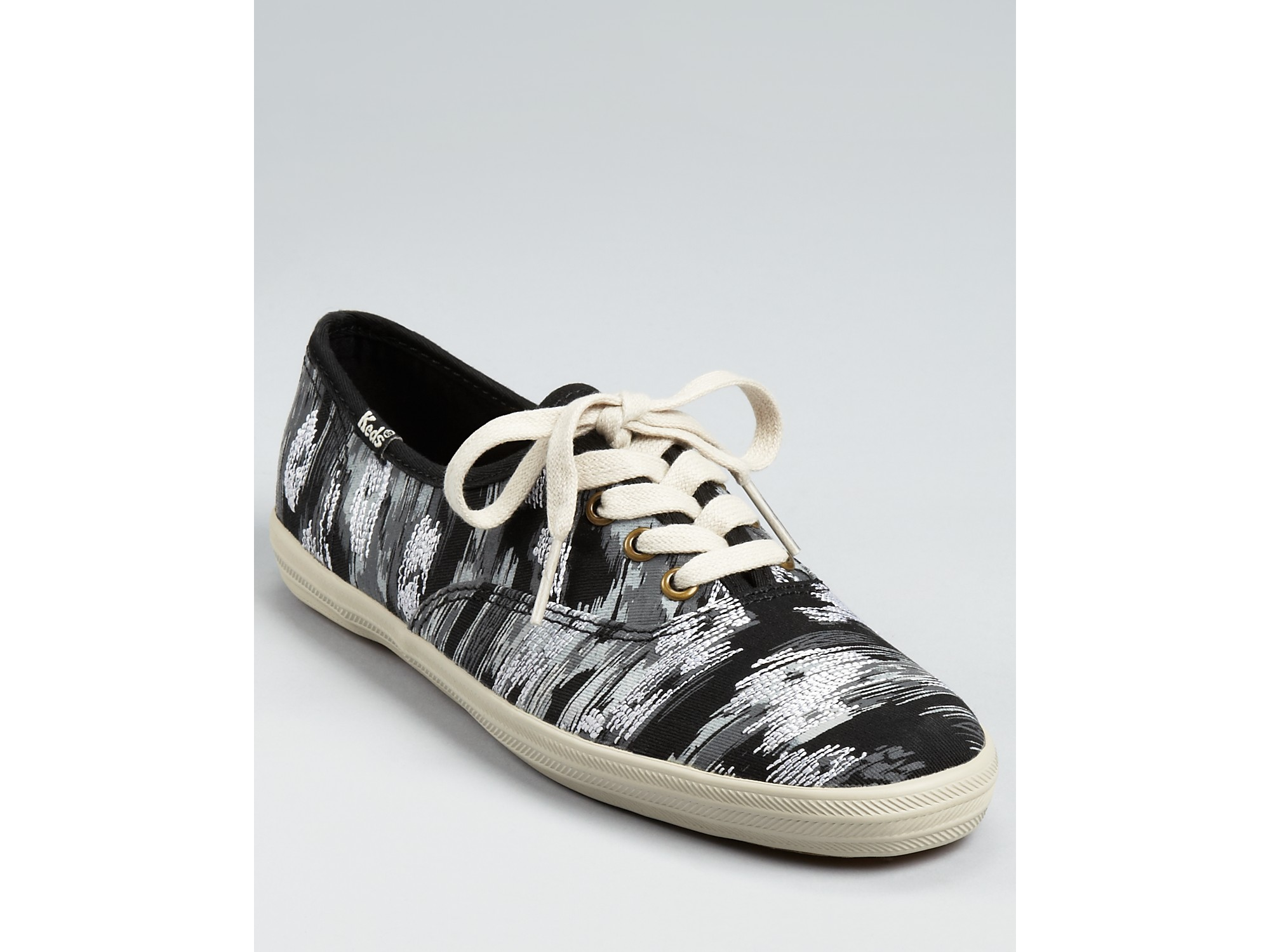 keds chion ikat sneakers in black lyst