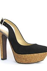 Luxury Rebel Pumps Gabo Jute Slingback - Lyst