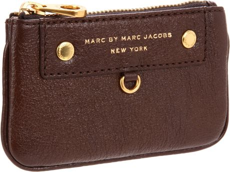 Marc By Marc Jacobs Marc By Marc Jacobs Preppy Leather Key Pouch in Brown (espresso) - Lyst