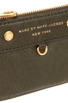 Marc By Marc Jacobs Marc By Marc Jacobs Preppy Leather Key Pouch - Lyst