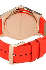 Marc By Marc Jacobs Watch  in Gold (r) - Lyst