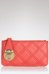 Marc Jacobs Quilted Key Pouch - Lyst