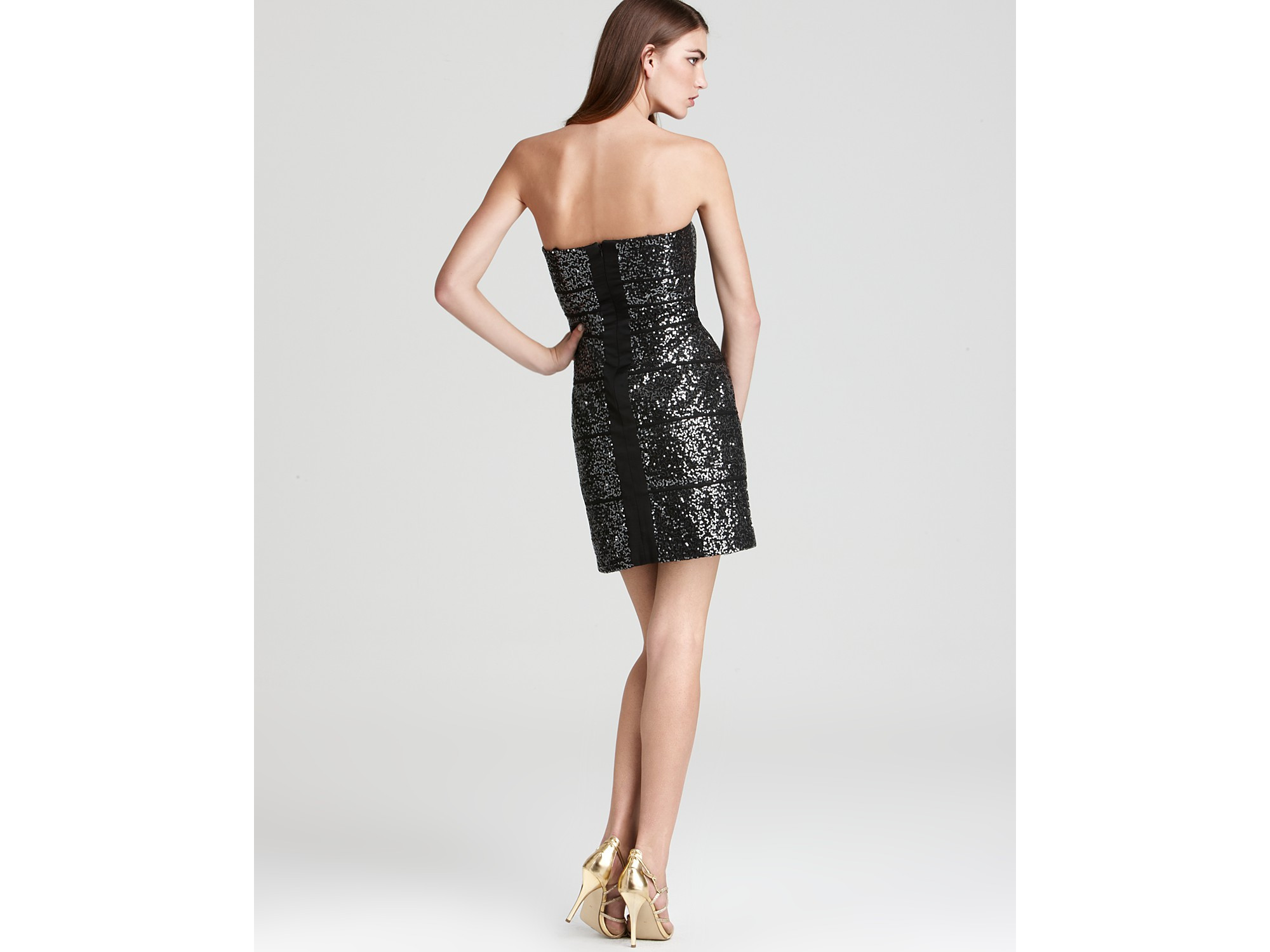 strapless cocktail dress by max and cleo international shipping