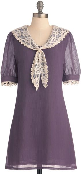 Modcloth Stop And Wisteria Dress in Purple (violet) - Lyst