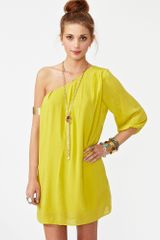 Nasty Gal On The Side Dress - Lyst