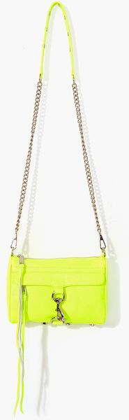 Nasty Gal Mini Mac Clutch Neon Yellow - Lyst