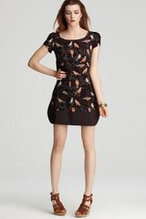 See By Chloé Bird Print Shift Dress - Lyst