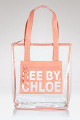 See By Chloé See By Chloé Zipfile Zipped Shopper Tote - Lyst