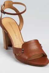 Sigerson Morrison Sandals Bunch High Heel - Lyst