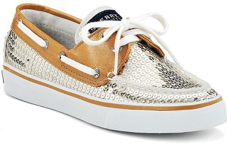 Sperry Top-sider Bahama Boat Shoes in Gold