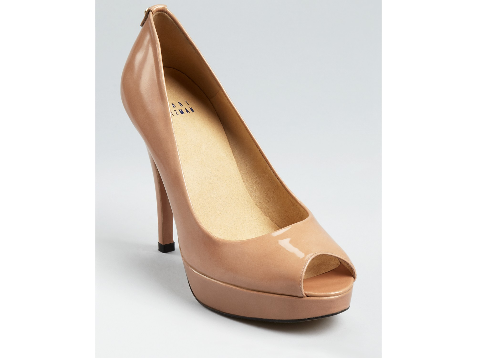 reliable cheap price Stuart Weitzman Suede Semi Pointed-Toe Pumps buy cheap great deals NrlPUgEr