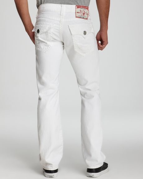 White true religion jeans for men - Lookup BeforeBuying